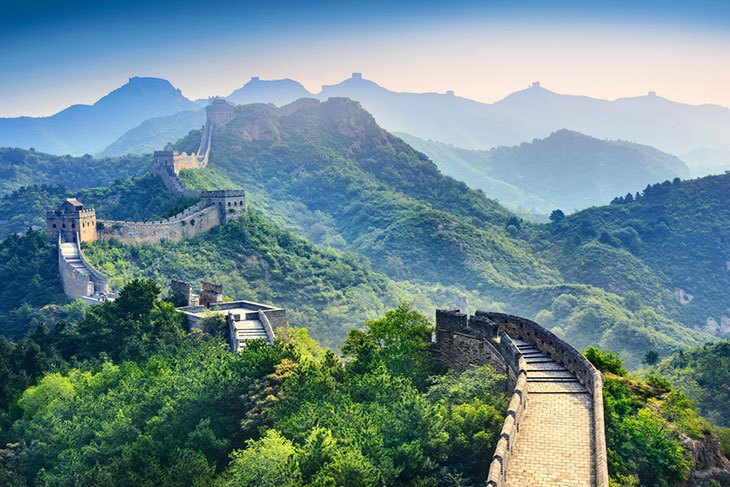 The Over-hanging great Wall Of China, Places to see in western China