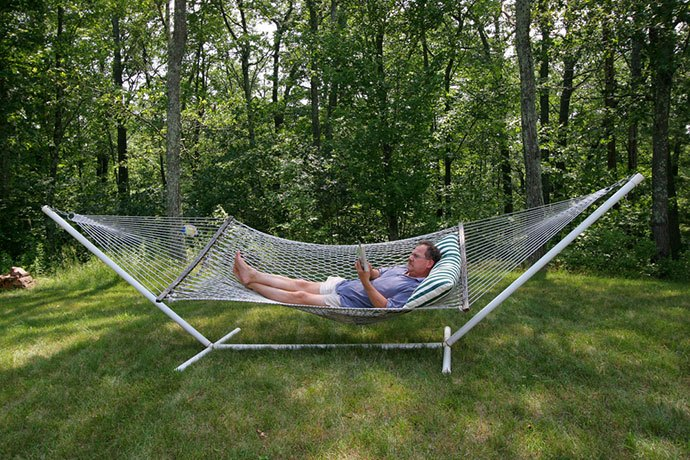 portable hammock with stand and bag