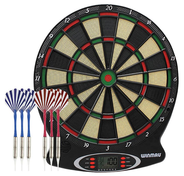 best soft tip dart board 2020