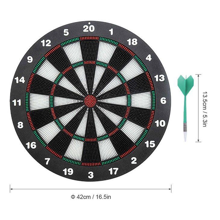 best soft tip electronic dartboard